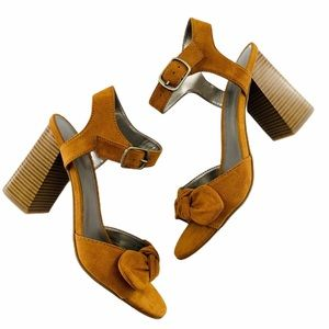 ☀️ NIB Worthington Bracken Chunky Heel Sandals | 7
